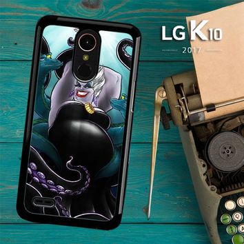 Ursula Octopus Little Mermaid Y0998 LG K10 2017 / LG K20 Plus / LG Harmony Case