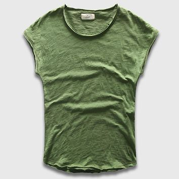 Mens Crew Neck Sleeveless  T- Shirt