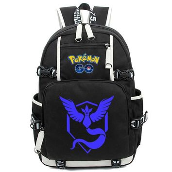 Japanese Anime Bag New  Backpack Pocket Monster School Bag Bookbag Cosplay Rucksack Teenagers Unisex Travel Bag Laptop Shoulder Bags AT_59_4