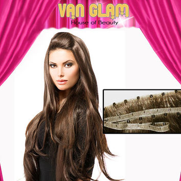 """26"""", Micro Weft, Hair Extensions, Choose Your Color(s), Cuticle Remy Human Hair"""