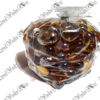 Glass Beads - Gold