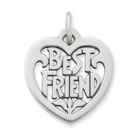 """Best Friend"" Heart Charm 
