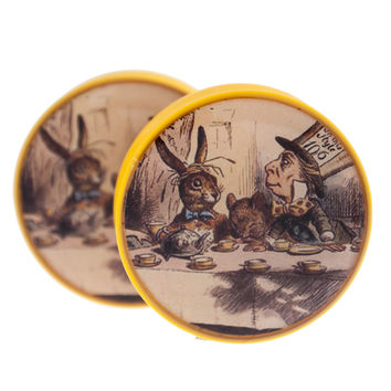 Mad Hatter Plugs (27mm-32mm)