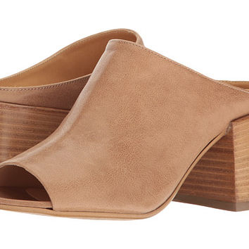 MM6 Maison Margiela Wide Heel Mule Nude Leather - Zappos.com Free Shipping BOTH Ways