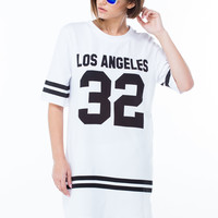 Reppin' Los Angeles 32 T-Shirt Tunic