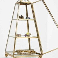 Magical Thinking Tower Glass Box- Gold One