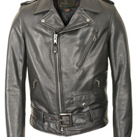 Waxy Natural Cowhide 50's Perfecto Jacket 519