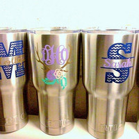 Flash Sale! RTIC Tumblers, Bridesmaid RTIC, Powder coat RTIC
