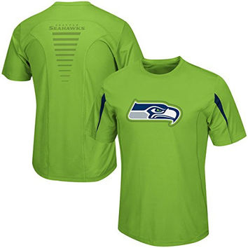 Seattle Seahawks Fanfare VII CoolBase Performance T Shirt Big and Tall Sizes