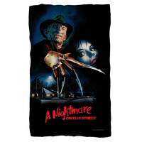 Nightmare on Elm Street/Poster Fleece Blanket
