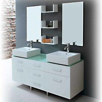 Modern Bathroom Vanity - Seabreeze