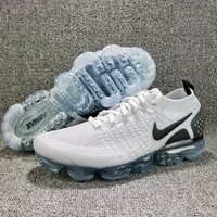 "Nike Air VaporMax 2.0 Flyknit ""White/Black"" Running Shoes - Best Deal Online"