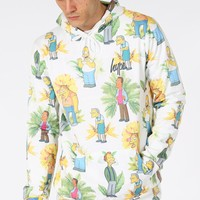 HYPE X SIMPSONS. BAR BOYS FLORAL HOODIE - HYPE®