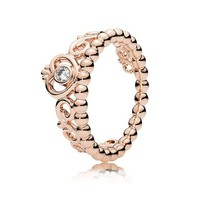 PANDORA Rose My Princess Tiara Ring, Clear Cubic Zirconia