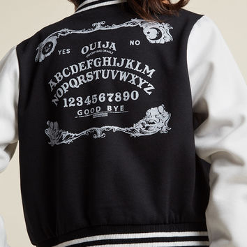 Hell Bunny Spell It Like It Is Bomber Jacket