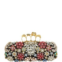 Alexander McQueen Brooch Knuckle Duster Clutch| Harrods
