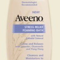 AVEENO  STRESS RELIEF FOAMING BATH