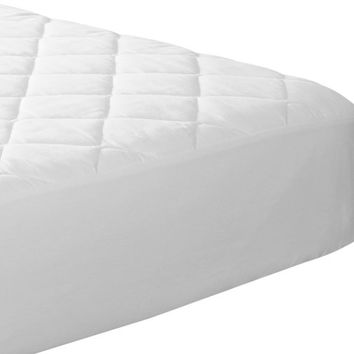 Fitted Quilted Mattress Pad (Queen) - Stretches up to 17 inches Deep - Mattress Pad Cover by Utopia Bedding