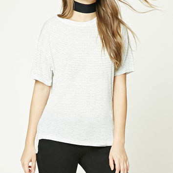 Boxy Striped Top