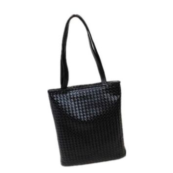 2017 Hot Sale Women Handbags Woven Leather Single Shoulder Bags Handbag Fashion Tote Bag Big Bag
