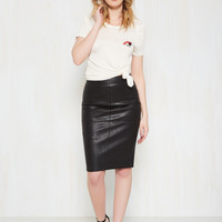 Edge Your Bets Pencil Skirt | Mod Retro Vintage Skirts | ModCloth.com