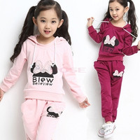 Kid Sports Wear Baby Clothing Outfit Girls Sport Suit Clothes Pants SV006224|26601 Children's Clothing = 1745304836