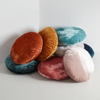 Round Lush Velvet Pillows