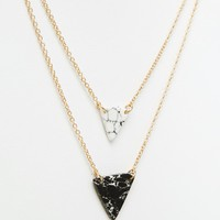 New Look Multi Row Necklace at asos.com