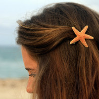Small Sugar Starfish Barrette