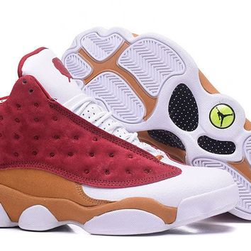 Air Jordan 13 Monta Ellis Premio Bin 23 Team Red/desert Clay-white 417212-601 - Beauty Ticks