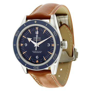 Omega Seamaster 300 Automatic Blue Dial Mens Watch 233.92.41.21.03.001