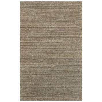 Oriental Weavers Infused 67002 Brown/ Brown Solid Area Rug