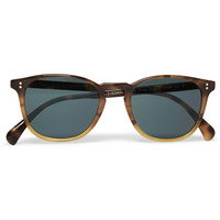 Oliver Peoples - Finley Esq. Round-Frame Acetate Sunglasses | MR PORTER
