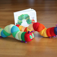 The very hungry caterpillar knitting pattern PDF instant download
