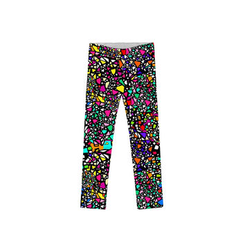 Little In a Joyful Mood Lucy Cute Printed Leggings - Girls