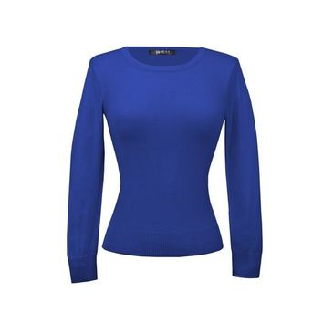 MAK Pullover Sweaters in Royal Blue