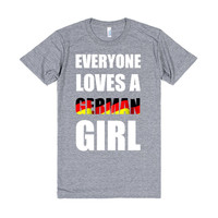 everyone loves a german girl