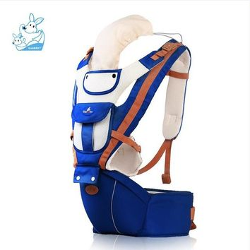 Toddler Backpack class Gabesy New For 0-36m Infant Toddler Ergonomic Baby Carrier Sling Backpack Bag Gear With Hip Seat Wrap Newborn Waist Stool Belt AT_50_3