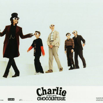 Charlie and the Chocolate Factory (French) 11x14 Movie Poster (2005)