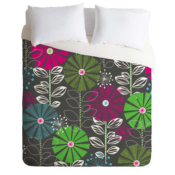 Khristian A Howell Cape Town Blooms Duvet Cover
