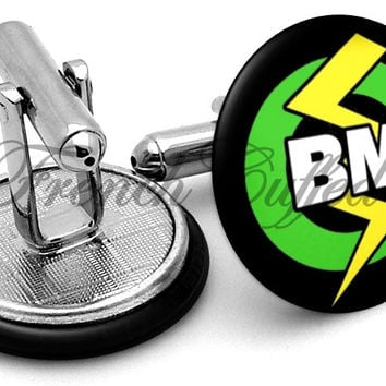 Best Man Lightning Rod Cufflinks
