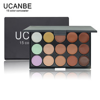 1 PCS 15 Colors Neutral Makeup Eyeshadow Camouflage Facial Concealer Palettes Matte Eye Shadow Cosmetic Drop Shipping