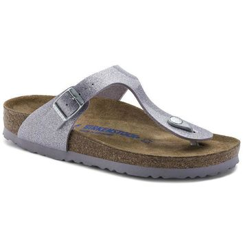 Sale Birkenstock Gizeh Soft Footbed Birko Flor Magic Galaxy Lavender 1003167 Sandals