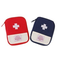 Outdoor Hiking First Aid Emergency Medical Survival Kit Wrap Gear Bag to Hunt Small Travel Medicine Kit