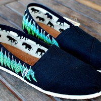Moccasin TOMS shoes