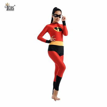 incredibles  Costume  Woman  Cosplay  Costumes  Spandex