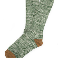 Etiquette Clothiers Roppongi Twisted Green Sock