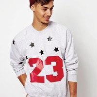 Reclaimed Vintage | Reclaimed Vintage Sweat With 23 Print at ASOS