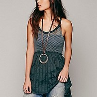 Knotted Babydoll Tunic