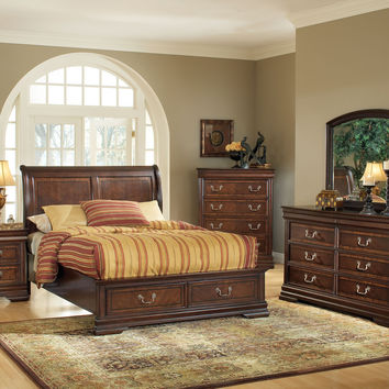 Hennessy Queen Bed - 19450Q